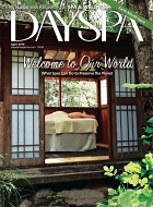 Day Spa In Saratoga Springs, NY, Magazine Cover Image