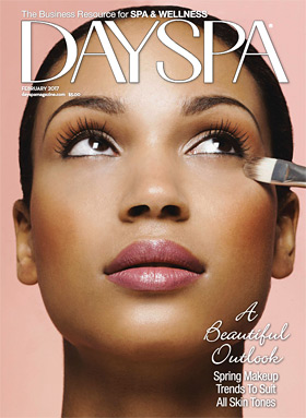 day spa article features complexions team member