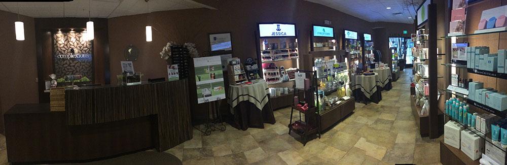 complexions reception area