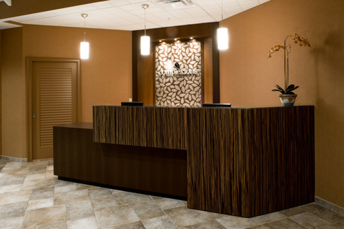 Reception Area at Complexions Spa in Albany NY