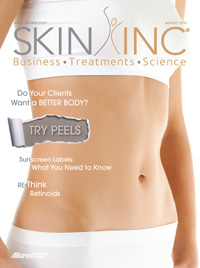 Albany, NY Day Spa, Skin Inc. Magazine August Cover Image - Complexions Spa for Beauty & Wellness