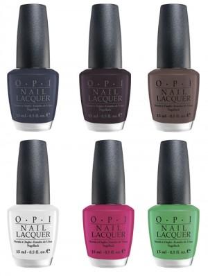 opi Matte Nail Polish Color