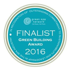 Green Spa Network Sustainability Award