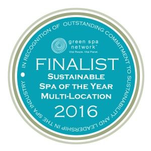 Green Spa Network Sustainability Award