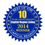 Capital Region Living 2014 Winner - Badge