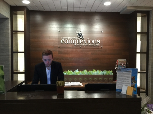Front Desk at Complexions Spa in Saratoga Springs NY
