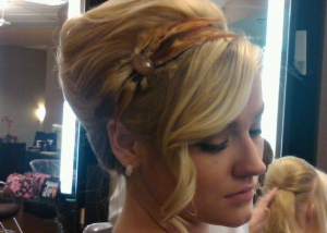 Blonde Bride with Braids, Hair Dresser, Saratoga Springs, NY - Complexions Spa for Beauty and Wellness
