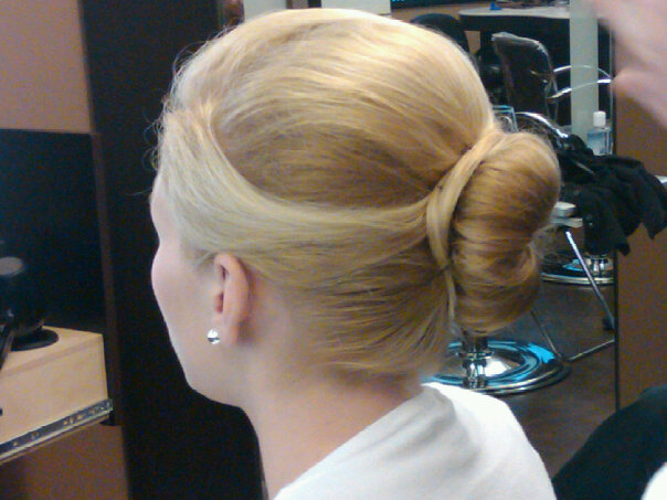 Blonde Bride Updo, Hair Dresser, Saratoga Springs, NY - Complexions Spa for Beauty and Wellness