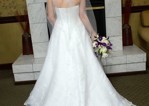 Bride's Train Image, Hair Dresser, Albany, NY - Complexions Spa for Beauty and Wellness