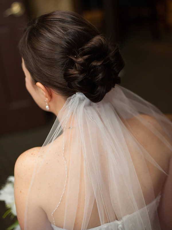 Bride's Veil Photo, Hair Salon, Albany, NY - Complexions Spa for Beauty and Wellness