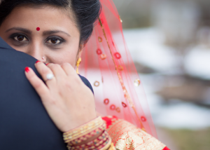 Indian Bride with Bridal Hair & Make-Up by Complexions Spa in Saratoga & Albany NY