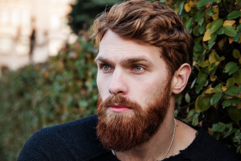 Attractive Man with Thick Beard
