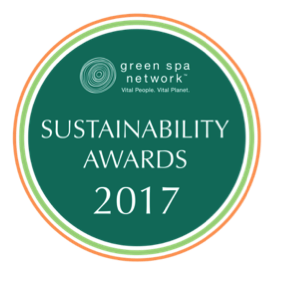 Green Spa Network Sustainability Awards 2017