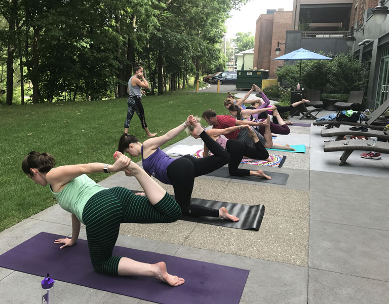 Yoga In the Park - Complexions - Saratoga, NY