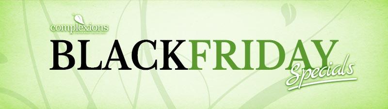 Complexions Black Friday Spa Specials