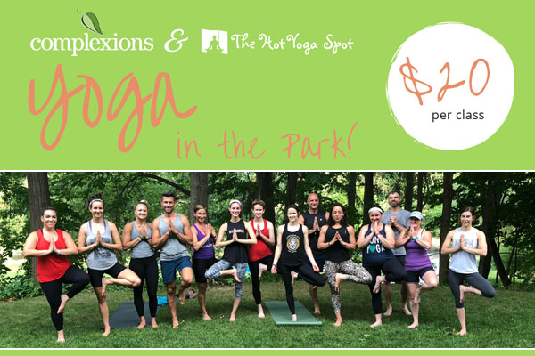Yoga In the Park - Complexions Spa & The Hot Yoga Spot