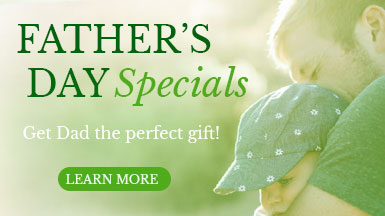 Complexions Spa - Father's Day Spa Specials - Father holding son