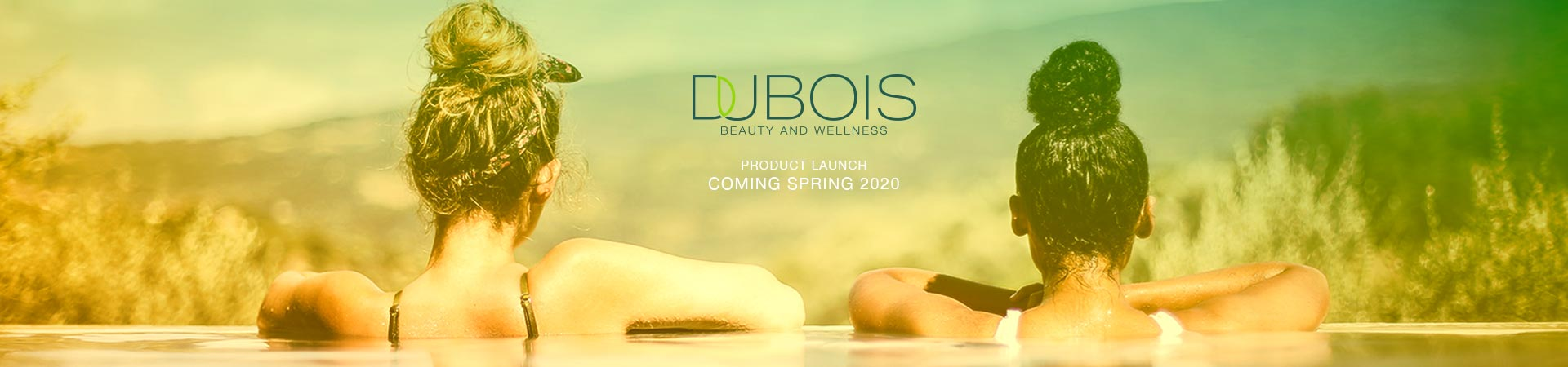 Dubois Beauty Skincare Launch Spring 2020 - Two girls in pool