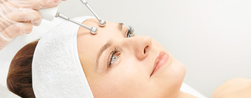 Microcurrent Facial - Complexions Spa - Woman Receiving Treatment