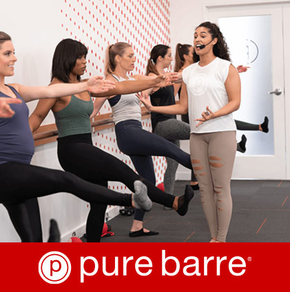 Pure Barre Classes - Complexions - Woman working out
