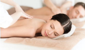 Massage Therapy - Woman Receiving Massage