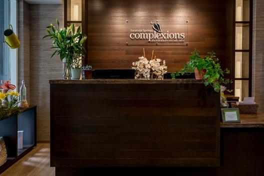 Complexions Spa Saratoga, NY Front Desk
