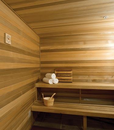 Spa Amenity - Sauna